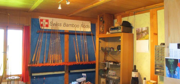 Bambusrutenbau in Meiringen